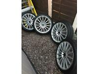 "Alloy wheels 17"" 4x100"