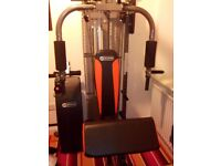 Dynamix multi gym with exercise bench