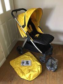 Mamas & Papas Armadillo XT Pushchair - Lemon Drop - Excellent Condition