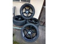 BMW Z4 / E85 ALLOY Wheels and Tyres
