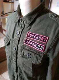 Superdry shirt in medium size