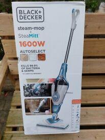 Black&Decker Steam Mop with Steam Mitt