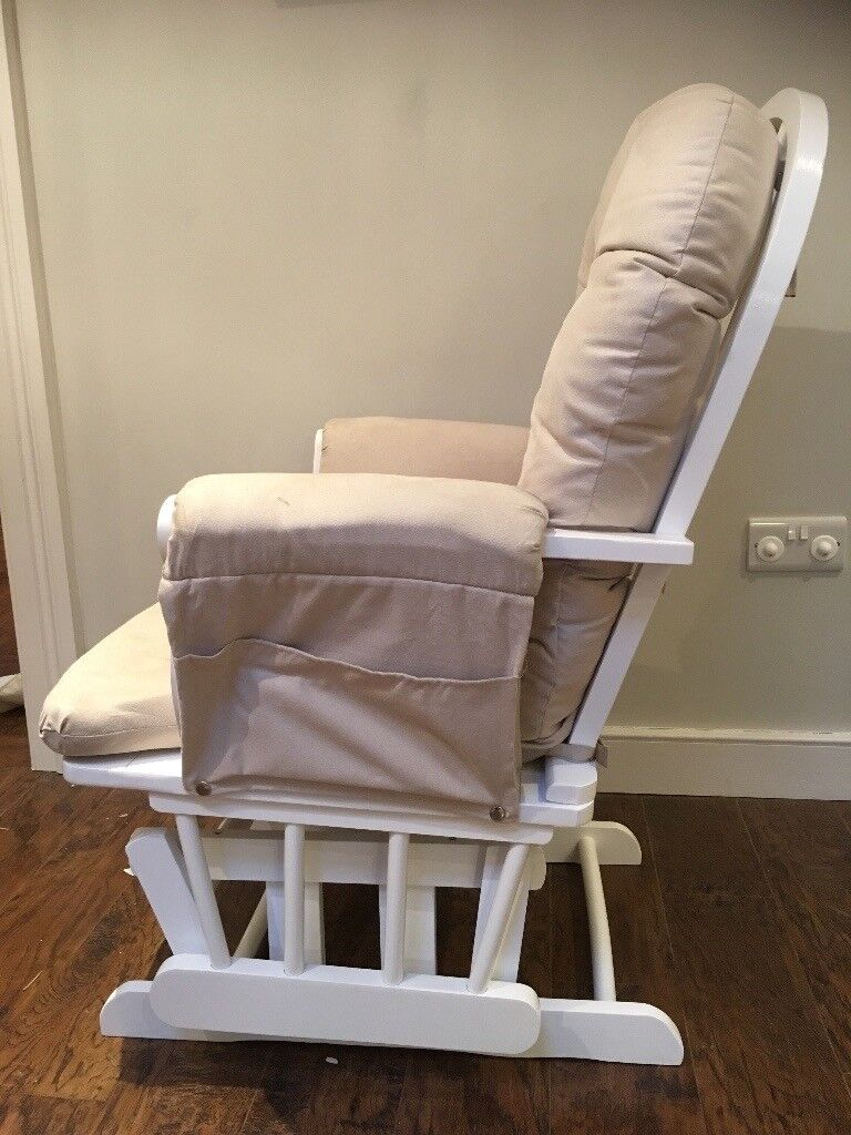 KUB Gliding Nursing Chair and Stool for sale