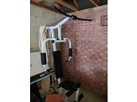 Multigym (leg curls, chest press, flyees and more) good condition, barely used, offers considered