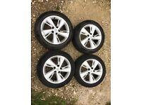 Renault Scenic Plenum Genuine 17 Inch Alloy Wheels