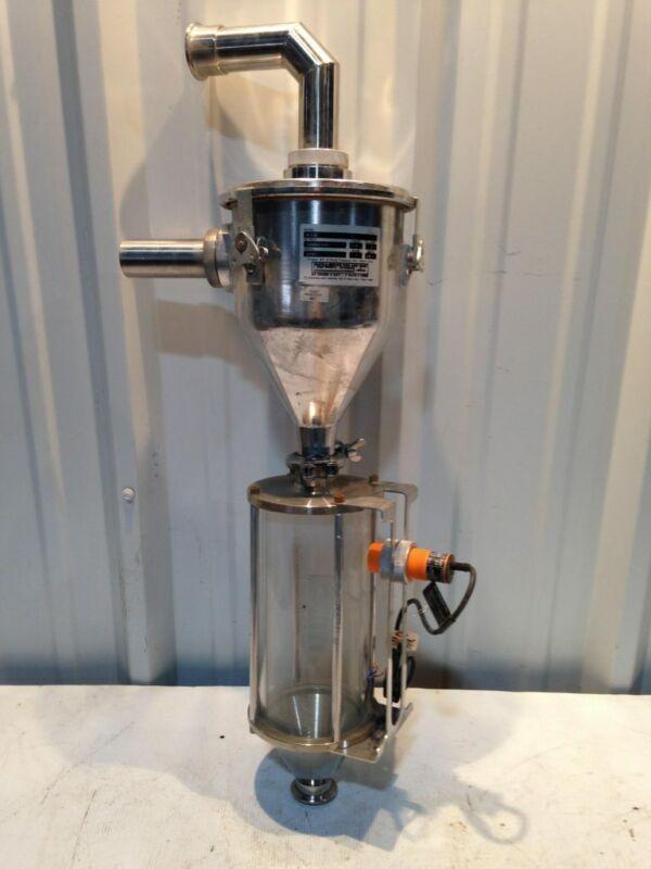 Conair K2CR Plastic Resin/Pellet Conveying Machine Vacuum Loader/Hopper/Feeder