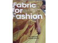 Fashion For Fabric Swatch Book Excellent Condition