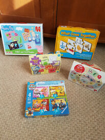 Toddler's first jigsaws and puzzles