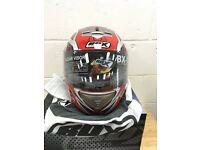 Box Bx-1 web red medium helmet