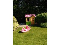 Little tikes country cottage play house and rocker
