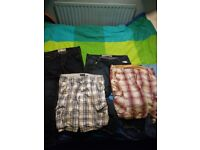 Mens jeans and shorts, various sizes