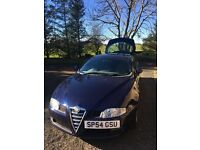 Alfa Romeo GT, 2005, 1.9 diesel, FSH, Mot'd, Metallic Blue, Grey Velour Seats, excellent condition.