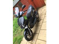 Gilera runner st 125 . Extremely low miles