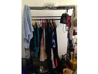 Habitat Alexis Black Metal Clothes Rail - Perfect Condition