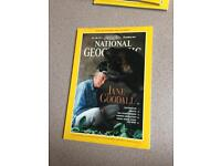 All 12 national geographic magazines from 1995