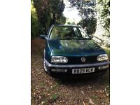 VW Golf GTI a good runner. Excellent stereo, low mileage.