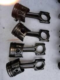 Citroen c8 2.0 hdi piston with conrod