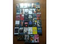 Cassette tapes in original cases
