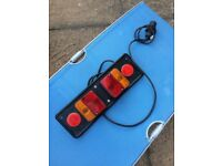 Trailer rear lights