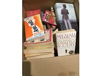 Box of books, excellent condition