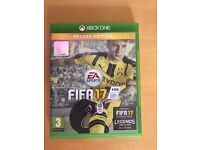 fifa 17 , xbox one , as new ! Price stands , no offers !