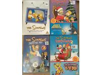 The Simpsons DVD's