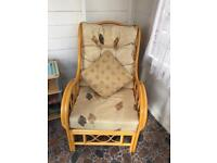 Pair of Conservatory Cane chairs