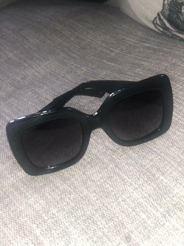 4f278769adafc Gucci Square-Frame Acetate Sunglasses - £165