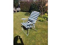 Nylon garden chair