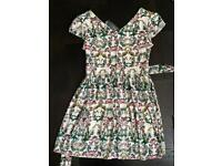 summer party dress M/L ( 12/14) new with tags