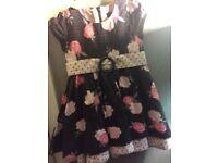 12-18m pumpkin patch dress