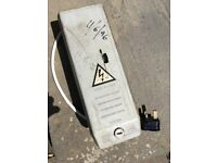 FREE transformer for a neon light, old, v. heavy may be useful for parts