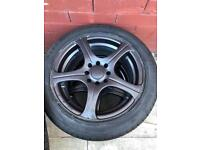 "15"" 5 spoke 4x100 4x108 Multi Fit Alloys"