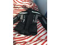 Small - Padded motorbike jacket barely used, great condition