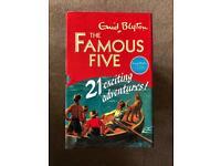 Enid Blyton Famous Five 21 book set