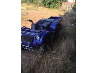 Quad bike and trailer for sale