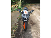 KTM RC125 2016 66 Reg - as new