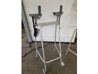 Walking Frame with Gutter forearm supports