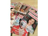 Large selection of magazines