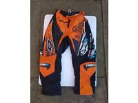 Kids motorcross trousers size 24