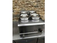 Parry 4 Pot Wet Well Electric Bain Marie