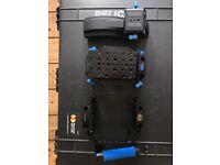 Black Magic Cage, Rear Chassis, Top Handle and Shoulder Pad - Redrock Micro