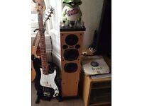 Pair of AE 100 SERIES Passive Standing Speakers - Model AE109 £40