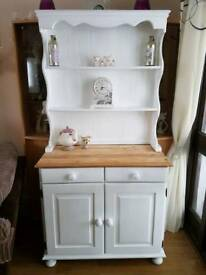 Pine shabby chic Welsh dresser
