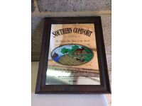 Southern comfort mirror £15