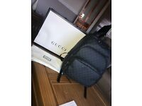 Gucci Bag (Back Pack) Black