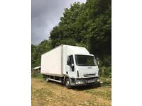 Iveco eurocargo 75e170 box lorry with tail lift. Low miles