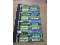 4 X CHILFEST TICKETS PENDLEY MANOR TRING SAT 7TH JULY 2018