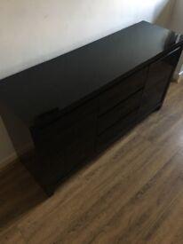 NEXT Black Gloss Sideboard