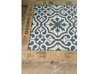 Floor tiles - ceramic Berkeley slate blue